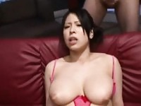 Rondborstige Japan Girl Jizz douche Bukkake.